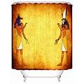 Egito Pirâmide Série Tecido-cortina de chuveiro-Casa de Banho Cortinas de Chuveiro Do Banheiro À Prova D' Água