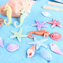 100pcs Mini Sea Animal Fish Shell  Miniature Garden Decor Ho