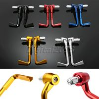 1Pair Fit 7 8 Dia Handle Bar ProGuard CNC Aluminum Motorcycle Lever Guards Handlebar Guard Protection