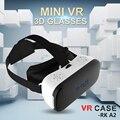 Все в одном VR Шлем 3D Очки VR Случае RK-A2 Octa-Core 2 Г Очки Виртуальной Реальности Погружения Ясном Английском Языке PK Bobovr X1 Очки