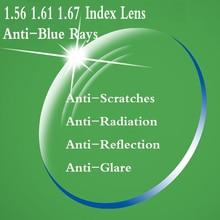 Gafas graduadas para miopía, lentes de presbicia óptica para anteojos YQ168, con índice de 1,56, 1,61