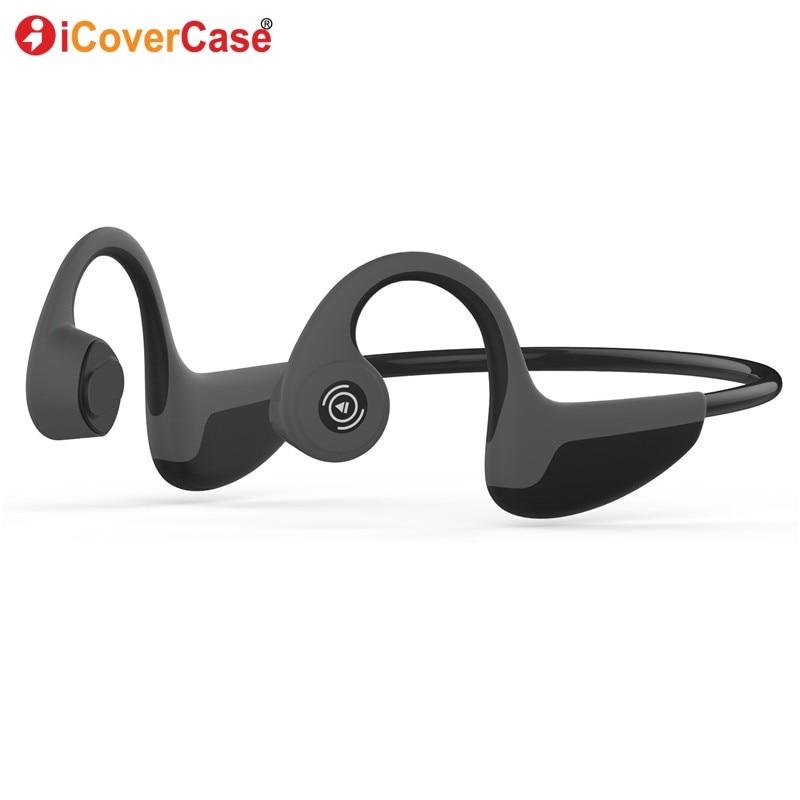 Pour Huawei p20 pro p10 p9 p8 lite 2017 p30 Y3 Y5 Y6 Y7 Y9 2018 Bluetooth Écouteur Sans Fil Casque Casque de Conduction Osseuse