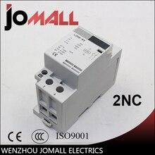 цена на 2P 63A 220V/230V 50/60HZ din rail household ac contactor 2NC