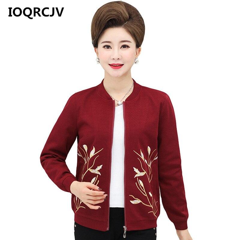 Women's Short   Jackets   2019 Spring New Causal Flowers Windbreaker Women   Basic     Jackets   Coats Zipper Long Sleeve Outerwear R130