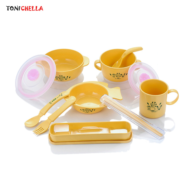 Baby Feeding Bowls Infant Food Tableware Toddler Dishes Corn Material Children Dinnerware Foods Container Plate Tray  sc 1 st  AliExpress.com & Baby Feeding Bowls Infant Food Tableware Toddler Dishes Corn ...