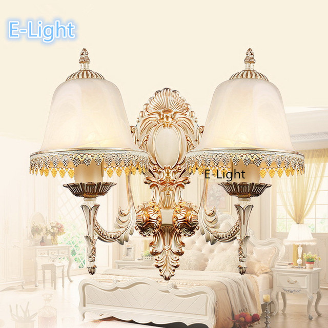 Modern minimalist wall lamp french style bedroom bedside wall modern minimalist wall lamp french style bedroom bedside wall light creative vintage wall lamp indoor lighting aloadofball Images