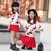 912d6a72261de Matching Mother Daughter Red Outfit Promotion-Shop for Promotional ...