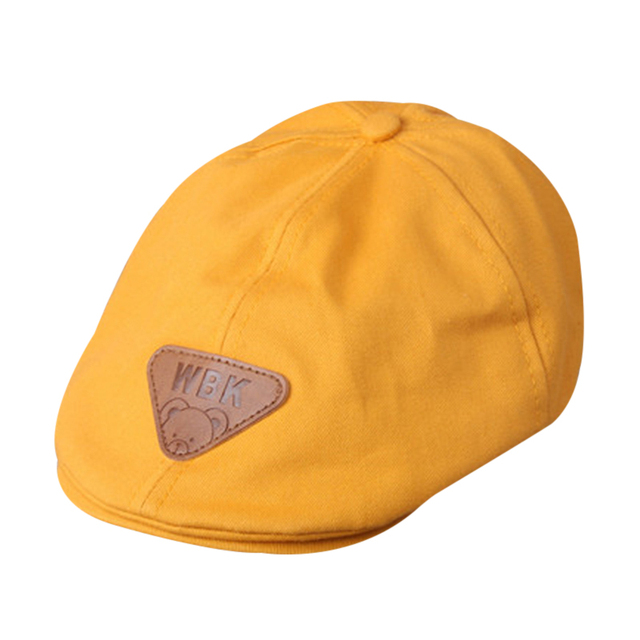 0cece1384373 Mode enfants coton Béret Chapeaux bonnet chapeau chaud casquettes garçon  fille cap enfants gavroche cap bébé