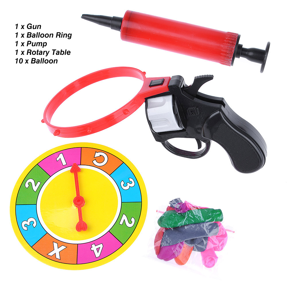 Russian Roulette Model Ball Pistol Party Tricky Creative Toy Adult Sly Fun Game