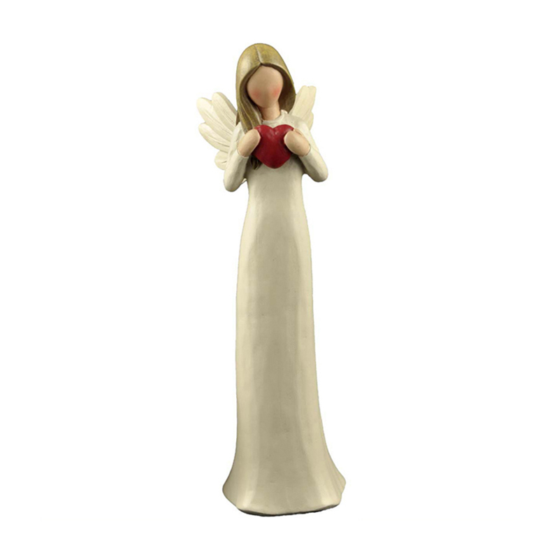 A household statues Resin Angel with crimson coronary heart Statue Baby Fairy Figurine Sculpture Dwelling Desk Decor Mom's Day Reward Collectible figurines & Miniatures, Low cost Collectible figurines &...
