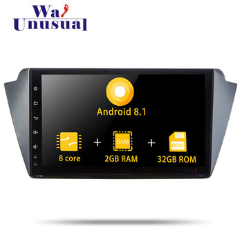 Autoradio 9 Android 8.1 Octa Core Car Multimedia Player For Skoda Fabia 2015 Stereo Radio Car GPS Navigation With BT WIFI Maps image