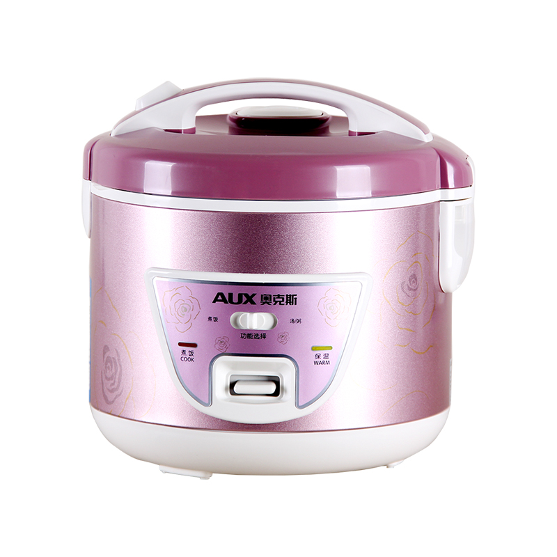 220V AUX Multifunctional Electric Rice Cooker 3L Non-stick Inner With Rice Cook And Porridge/Soup Cooking Function dmwd electric pressure cooker 5l smart intelligent rice cooker household 0 24 hours non stick soup stew pot keep warm 220v eu us