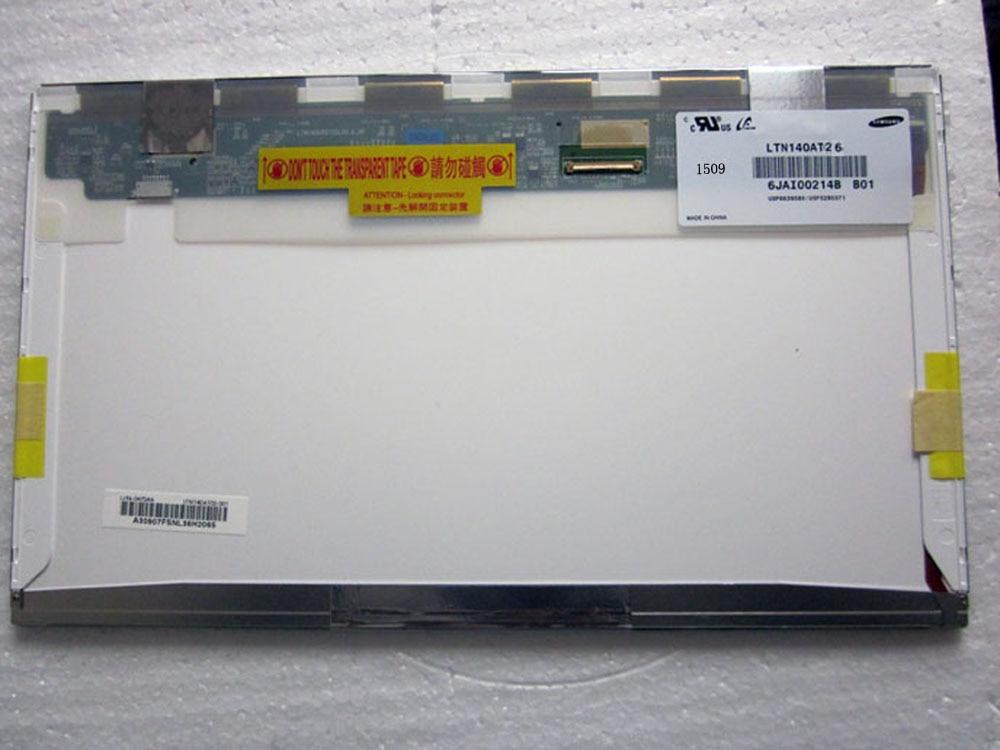 LTN140AT26-804 LTN140AT26  TFT LCD Panel  Screen 1366x768 HD LED Screen Original ltn140at26 w01 ltn140at26 w01 40pins lcd screen panel original 1366 768