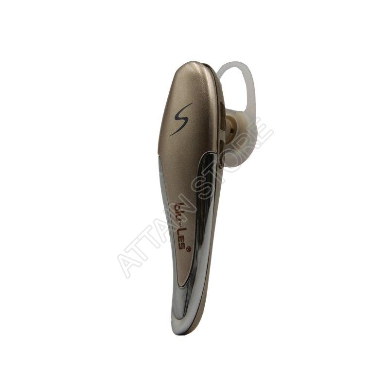 Bluetooth Headset Ohrhörer Drahtlose Kopfhörer mit Sprachanzeige und Noise Cancelling Mikrofon