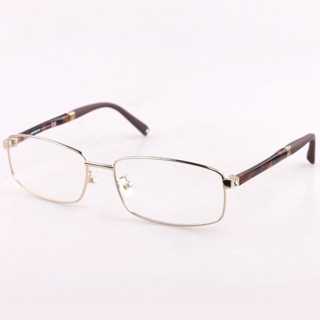 New frames MB451 men business joker his rimless glasses Elegant half ...