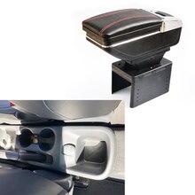 Подлокотник коробка Автомобильная Центральная коробка для хранения с держатель стакана, пепельница подлокотник вращающийся для Nissan Kicks автомобильные аксессуары