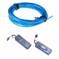 3M 3.2mm el wire+ + 3v AAA Battery Inverter+ Mix Order Available