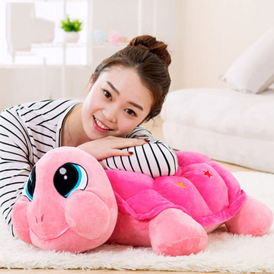 Cute Tortoise Plush Toy Staffed Cartoon Colorful Turtle Plush Doll Activity Doll Wedding Doll Pillow Toy Gift Peluches 70C0106