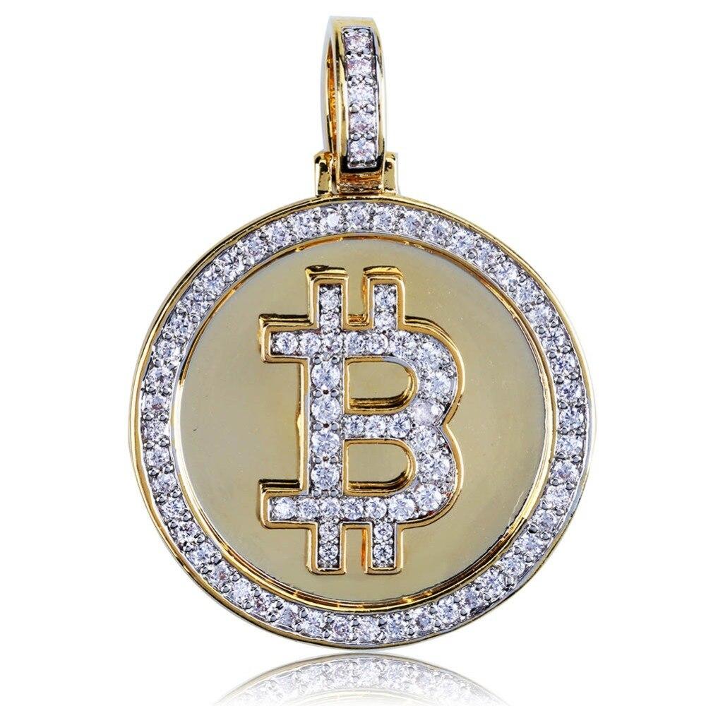 Bitcoin Bling Bling Pendant 2