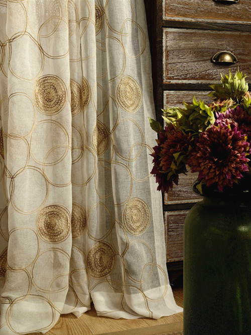 Online Buy Wholesale circle pattern curtains from China circle ...