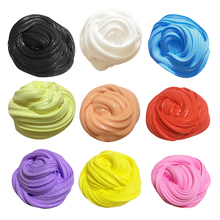 DIY Fluffy Floam Slime Scented Kids Stress Relief Toy Sludge Cotton Mud Release Clay Toy Colorful