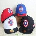 Marca de moda Bonés de Beisebol Cap Menino Para 3-8 Anos de Idade crianças Capitão Projeto Snapback Novas Tampas York Cap Ajustável Para menina