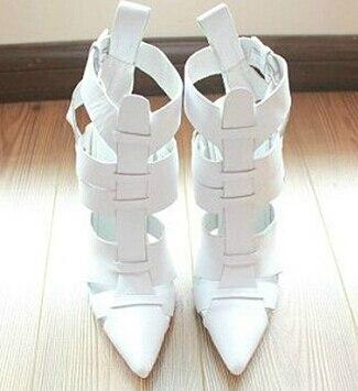2017 hot sales spring summer woman cut outs pumps PR038, color white star popular high 9cm heels wedding bridal dress shoes
