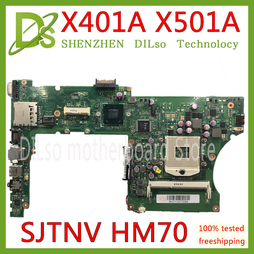 KEFU X401A HM76 For ASUS X301A X401A X501A motherboard original  X401A SJTNV HM70 Support I5 I7 CPU Test originalKEFU X401A HM76 For ASUS X301A X401A X501A motherboard original  X401A SJTNV HM70 Support I5 I7 CPU Test original