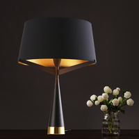 simple art lamp decoration lamp NEW Milan dream bedroom nightstand Table lamp Nordic fabric creative personality study ZCL