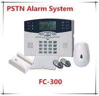 40 зон ЖК-дисплей Дисплей DIY установить PSTN Беспроводной охранных Защита от взлома Системы