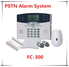 40 Zones LCD Display DIY Install PSTN Wireless Home Security Burglar Alarm System