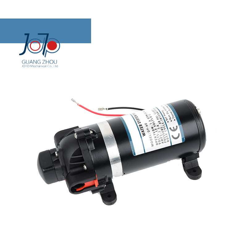 DP-80 24v Portable High Pressure Self-priming Reciprocating Pump For Car Wash Trailer Water Supply Household Water Use portable electric car washer water pumper 70w 130psi high pressure self priming car wash pump dc 12v clean set tool machine