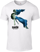 SUEDE Night Thoughts T-SHIRT vintage band indie smiths cd britpop oasis vinyl  Printed Round Men T shirt Cheap Price top tee