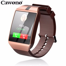 Продажа Cawono G12 Bluetooth Smart часы с Камера Smartwatch Поддержка TF sim-карта для IOS iPhone samsung huawei телефонов Xiaomi Android