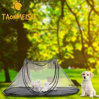 Wholesale Collapsible Storage Portable Folding Pet tent Dog House Cage Cat Tent Playpen Puppy Kennel Fence outdoor supplies