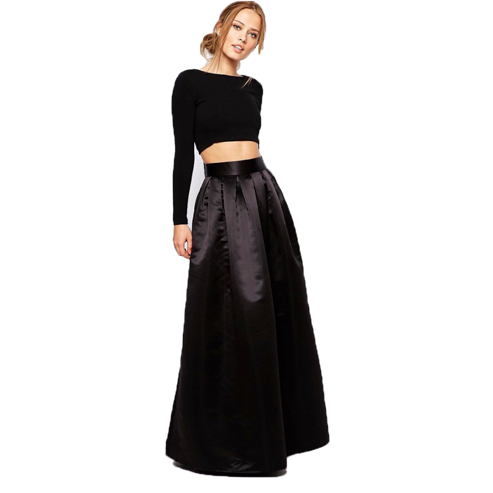 Popular Black Skirt with Pockets-Buy Cheap Black Skirt with ...