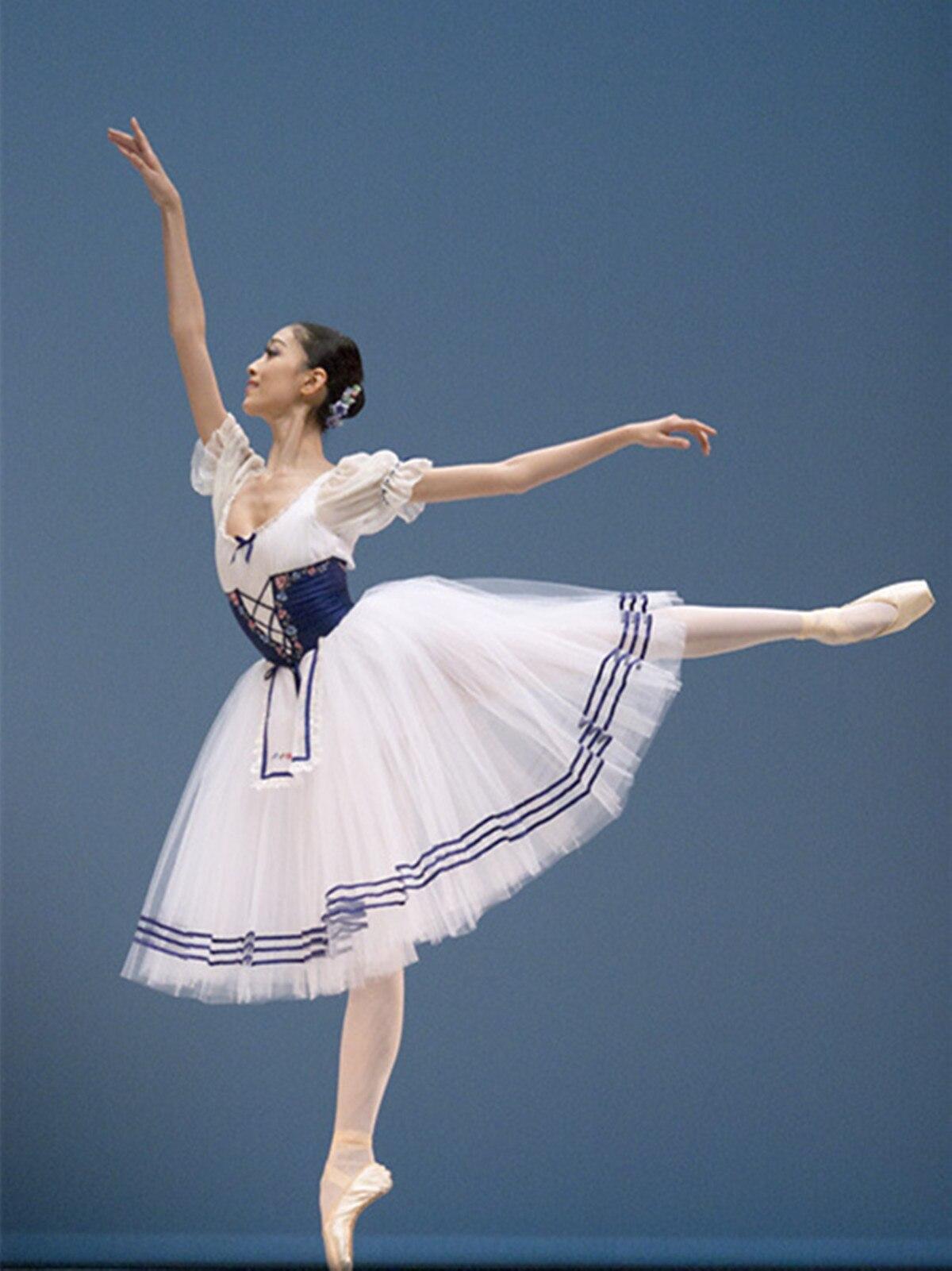 2019 élégant lyrique moderne danse costumes femmes robe de ballet adulte contemporain danse robes pratique vêtements effectuer