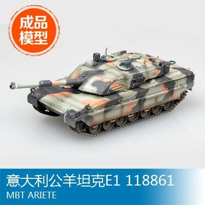 Trumpeter model Finished model 1/72 ram tank E1 118861 35014