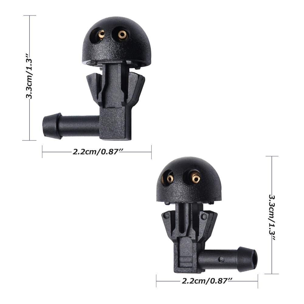 Windscreen Washer Jet Nozzle 6438.J2//6438.E6//6438.AV LEFT
