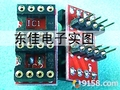10PCS gilded seat single op amp IC DIP switch seat dual op amp suitable for OPA627 AD797 OPA604