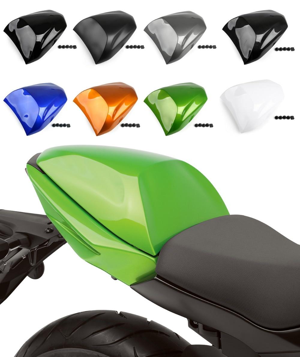 Areyourshop Motorcycle ABS Plastic Rear Seat Cover Cowl For Kawkasaki NINJA 650 ER6F ER6N 400 Motorbike Part New Arrival