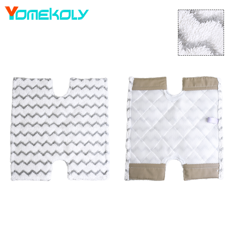Steam Mop Pad 37.5X36.5cm Replacement Pads For Shark S3973 Steam Mop Microfiber Machine Washable Cloths Vacuum Cleaners Parts c s 1 6 steam киев