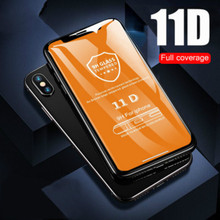 11D full protective glass for iPhoneX 6 7 8 plus film anti-fingerprint new technology tempered screen protector 2019