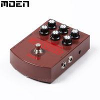 Moen Buffalo Acoustic DI With Pramitric EQ Electric Guitar Effect Pedal Wide Adjustable Tone AC BA
