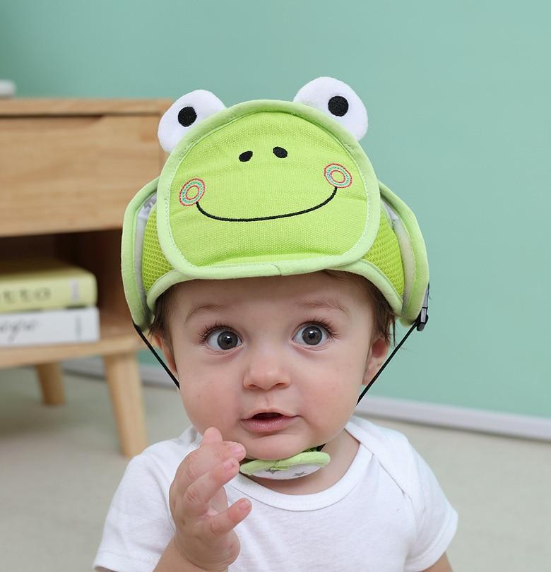 Toddler Safety Head Protection Helmet Kids Hat For Walking Crawling 7N