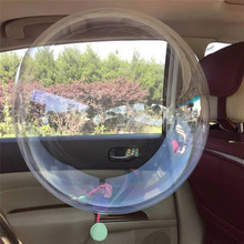 10pcs 12/18 inch No Wrinkle Bobo Transparent Clear Balloons Marriage Wedding Decro Helium Inflatable Balls Gifts Favor Wholesale