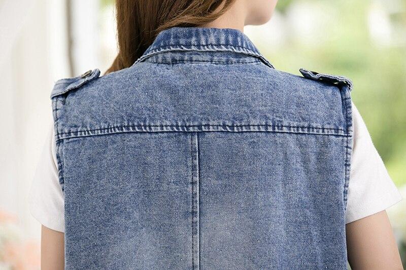 5xl, vintage, com bolso, furo, jeans, casaco feminino, casual, verão