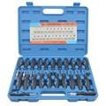 23 Teile/satz Universal-Automotive Terminal Release Entfernung Remover Tool Kit Auto Elektrische Verdrahtung Crimp Stecker Pin Extractor Kit