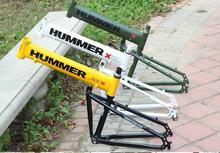 Nuevo marco de la bicicleta de 26 pulgadas * 18 marco plegable bicicleta plegable de aleación de aluminio bastidor de disco bicicleta de montaña marco de la bicicleta