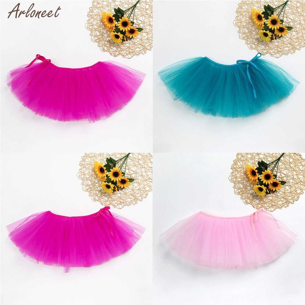 New Baby Girls Top Sale Ballet Tutu Princess Skirt Dance Wear Costume Girls Kids Skirt Party Dance Princess Girl Tulle clothes